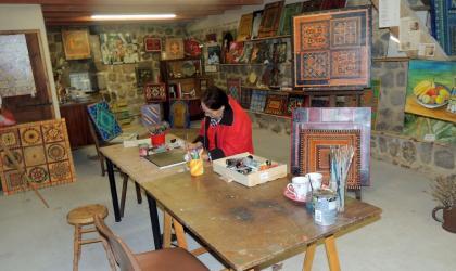 - Atelier galerie d'art