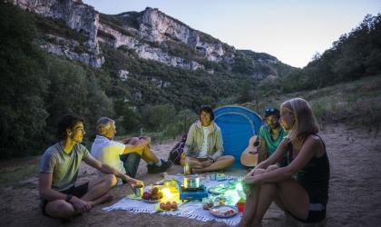 Mathieu Dupont - une nuit dans les Gorges de l'Ardèche