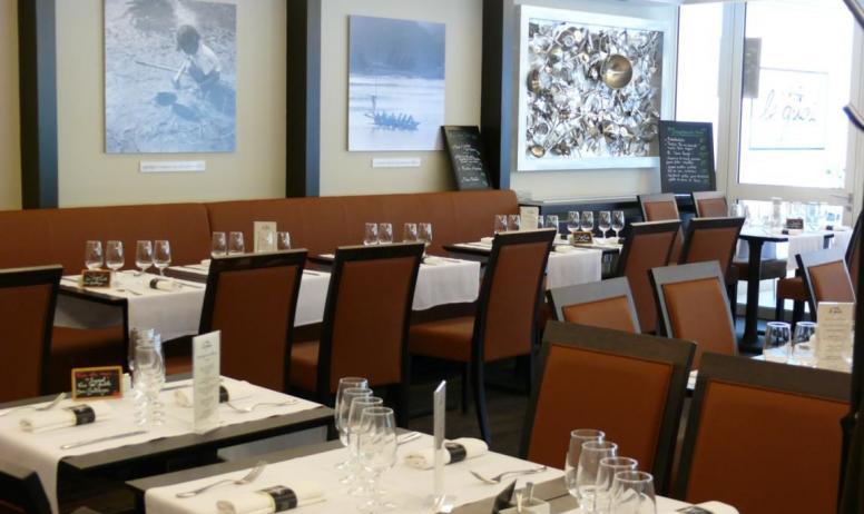 Chabran - salle de restaurant