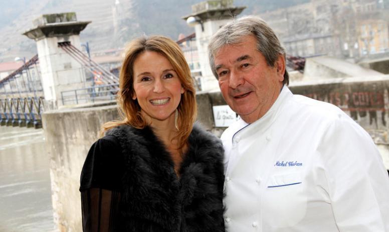 M.Chabran - Michel Chabran et sa fille