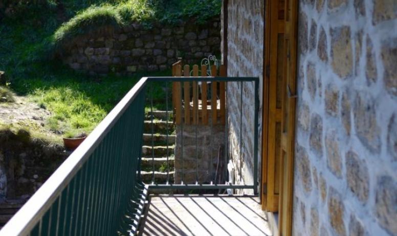 Clévacances - balcon chambre 3