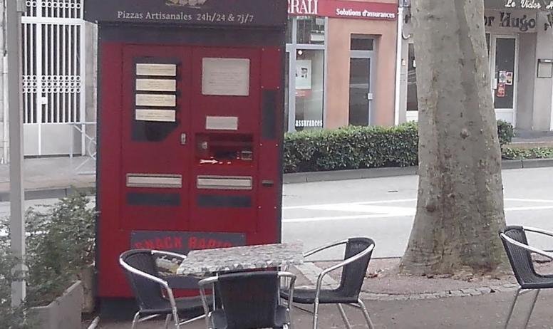 Snack Rapido - Distributeur automatique de pizzas