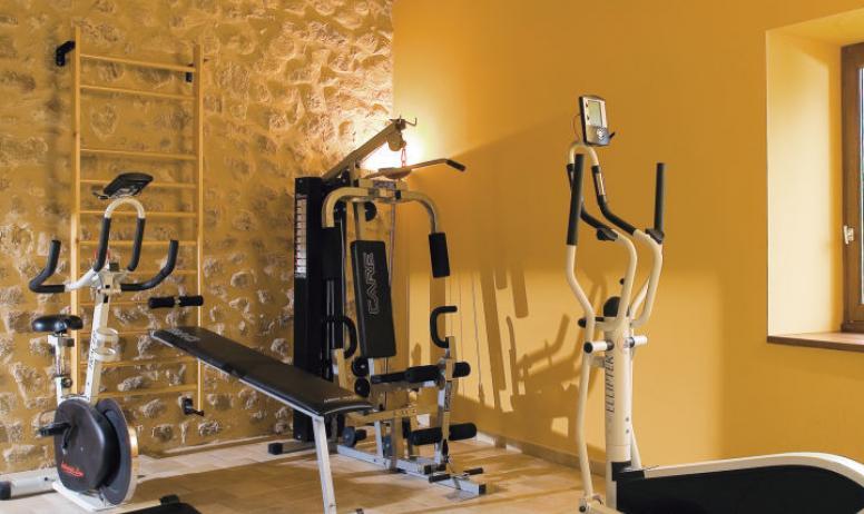 Hôtel Le Chêne Vert - Salle de fitness