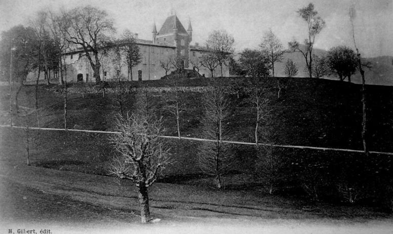 ©ED.H.Gibert ©mairiedejaujac - Jaujac - Château de rochemure, vieille carte postale ©ED.H.Gibert ©mairiedejaujac
