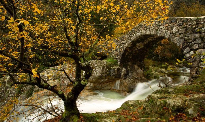 ©S.BUGNON - Jaujac - Pont Romain ©S.BUGNON