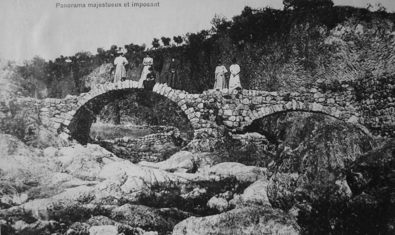 ©mairiedejaujac - Pont romain, photo carte postale