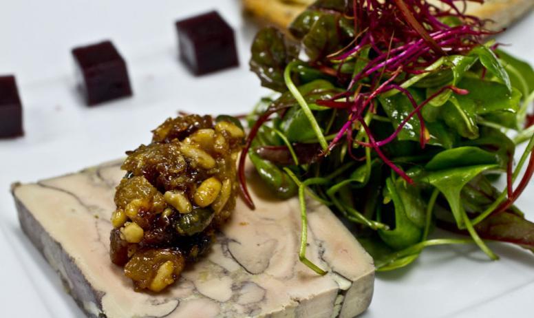 Hermitage Tournonais Tourisme - Marbré de foie gras