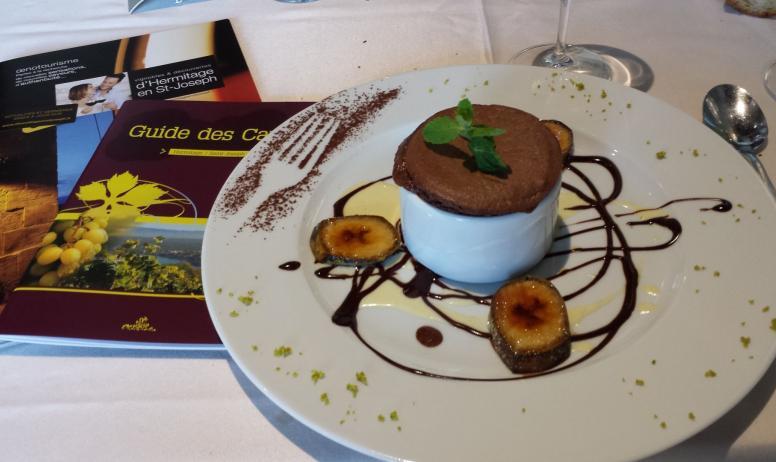 Hermitage Tournonais Tourisme - Soufflet chocolat Valrhona