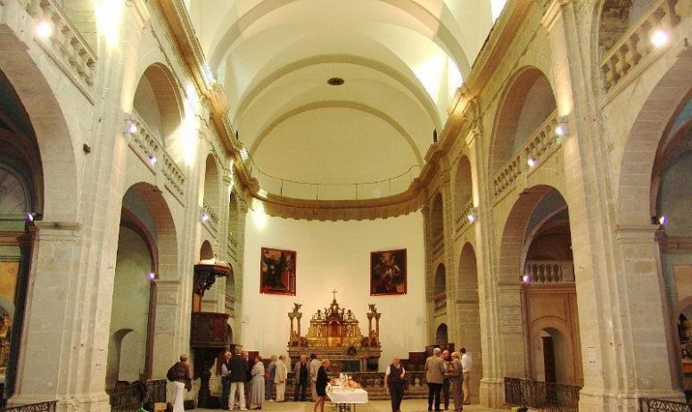 Association la chapelle du lycée Garbiel Faure - Vue intérieur de la chapelle du Lycée Gabriel Faure