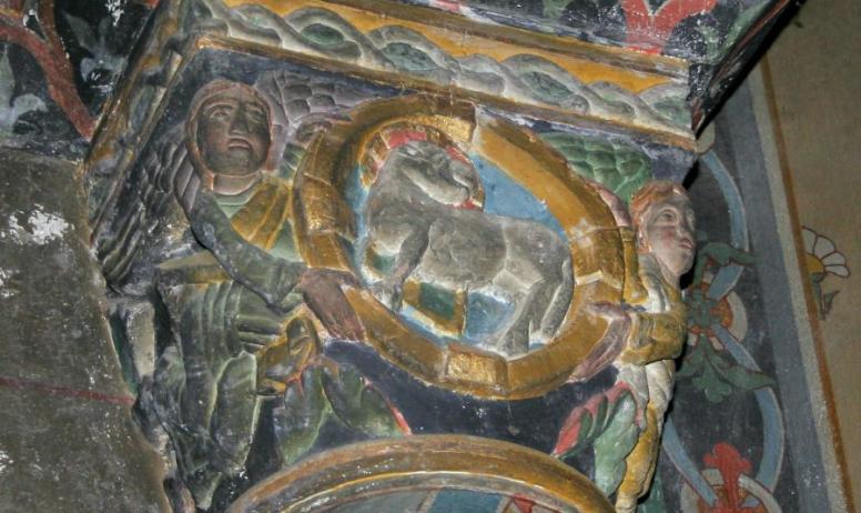 Hermitage Tournonais Tourisme - Chapiteaux de l'église Saint Martin de Vion