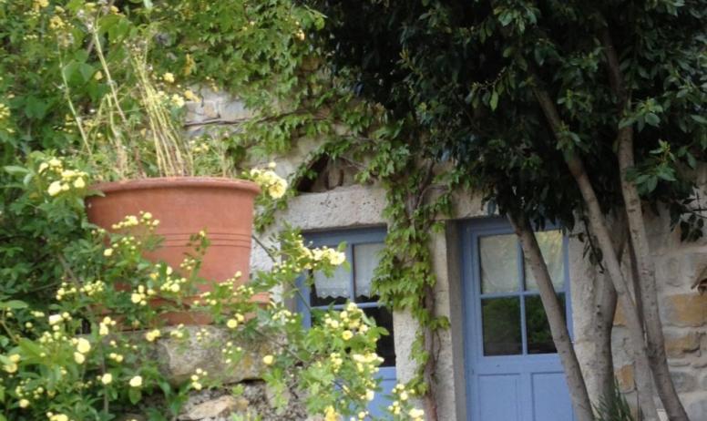 Batisse et végétation - Domaine de la Manse