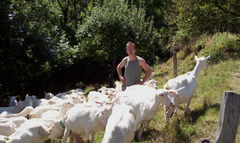 Lou Chadenac - Mr Noyer et ses chèvres