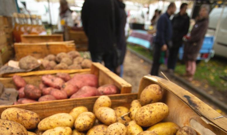 ©S.BUGNON - Thueyts - Fête de la patate - paysage ©S.BUGNON
