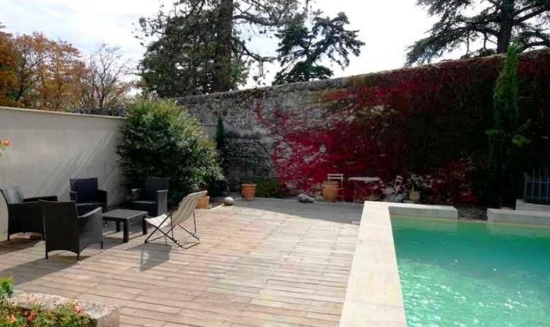 © La Villa des Charmilles - La piscine