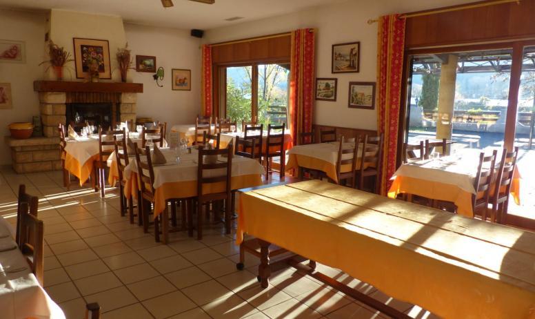 HT Tourisme - Salle restaurant