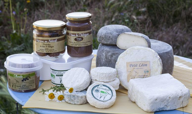 Produits de la ferme La Biquette de la Jaubernie