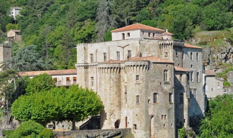 Marius Tavernier - Château de Largentière