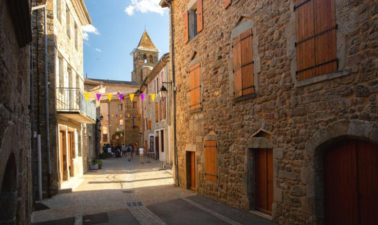 ©S.BUGNON - Meyras - La Grand Rue-2 ©S.BUGNON