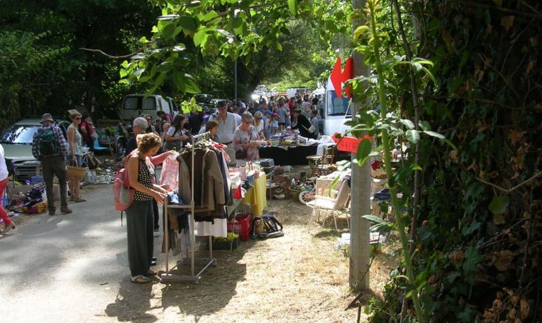 Vide grenier Ardèche