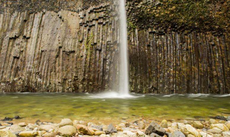 ©S.BUGNON - Fabras - Cascade temporaire dans la vallée du Lignon ©S.BUGNON