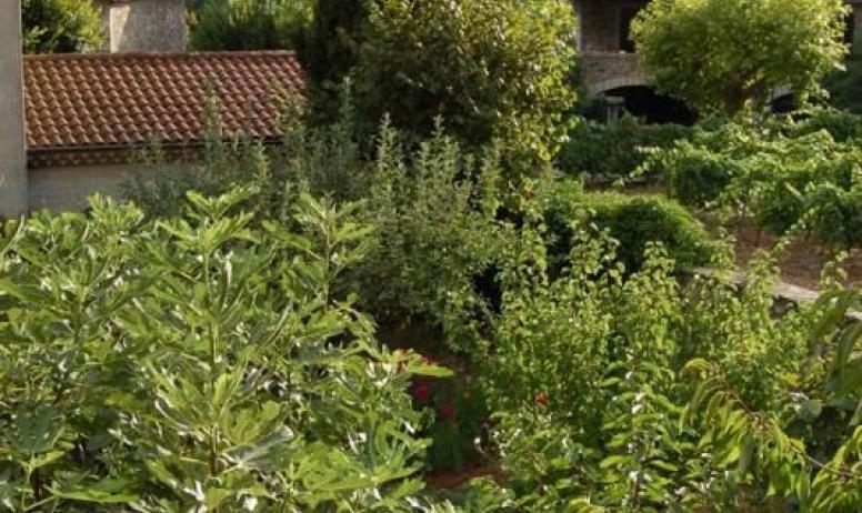 Gîtes de France - Vue de la deuxième terrasse