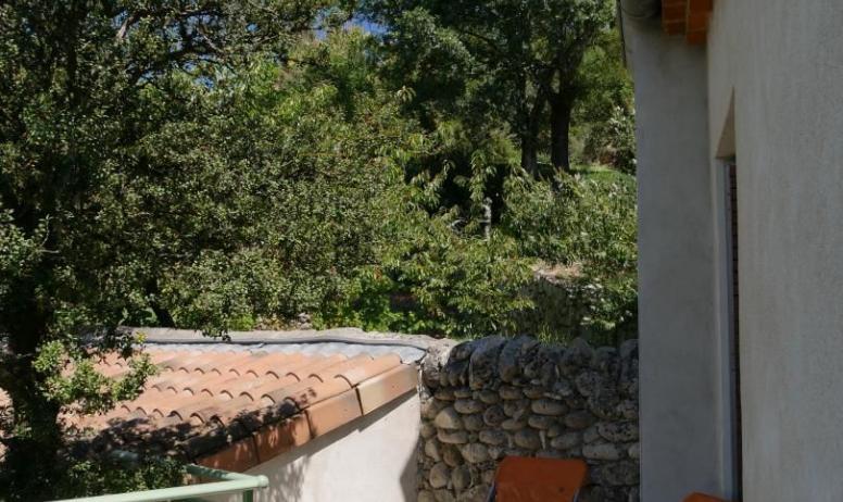 Gîtes de France - Deuxième terrasse