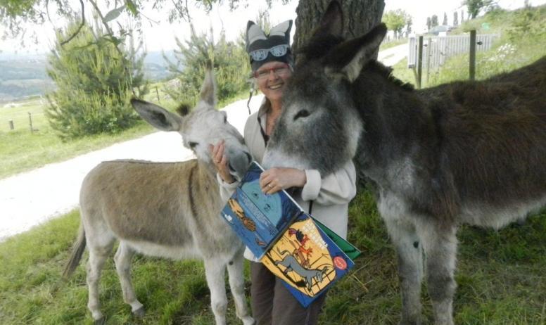 Gîtes de France - Ness et Betty et leur complice : Cath'âne