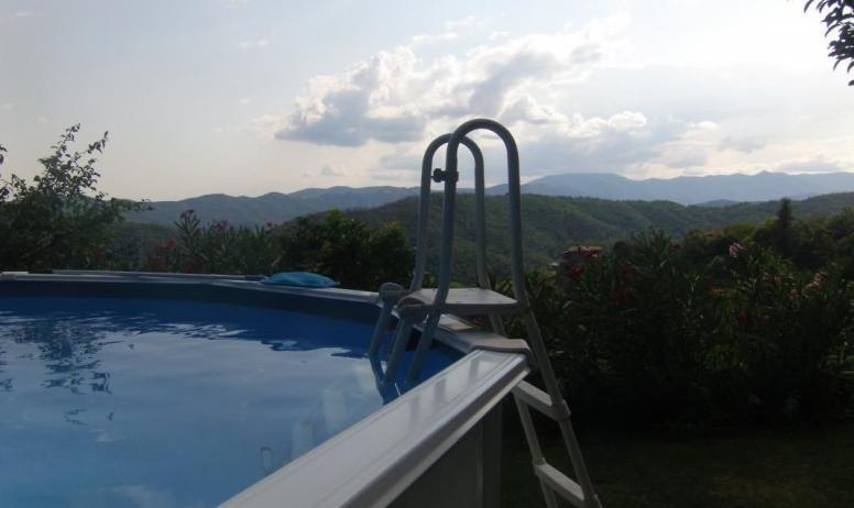 Gîtes de France - vue de la piscine