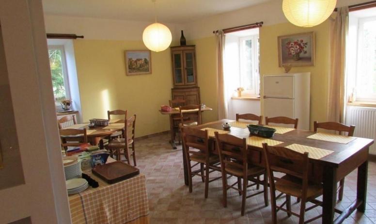 Gîtes de France - Salle à manger