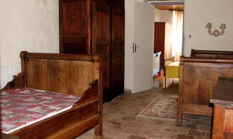 Gîtes de France - chambre à 2 lits