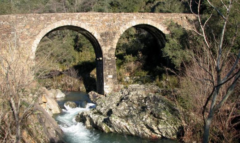 Gîtes de France - le pont de Chabaleyret