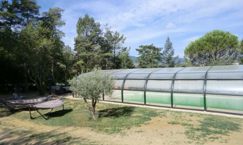 Gîtes de France - La piscine couverte, dimension 12m x 6m