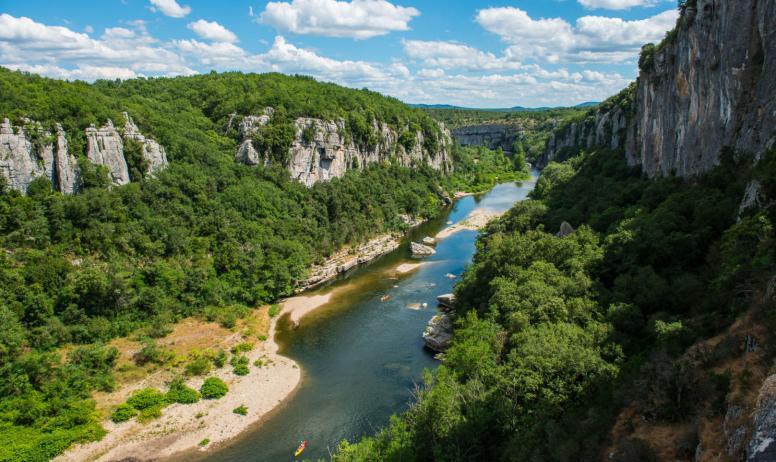 M. Dupont - ot Cévennes d'Ardèche - Gorges du Chassezac