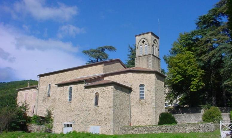 OIT Val de Ligne - L'église de Rocher