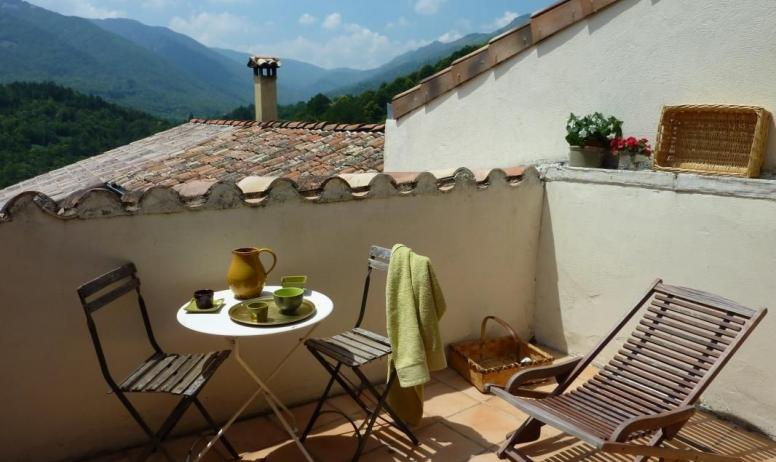 Gîtes de France - ...et sa terrasse privée
