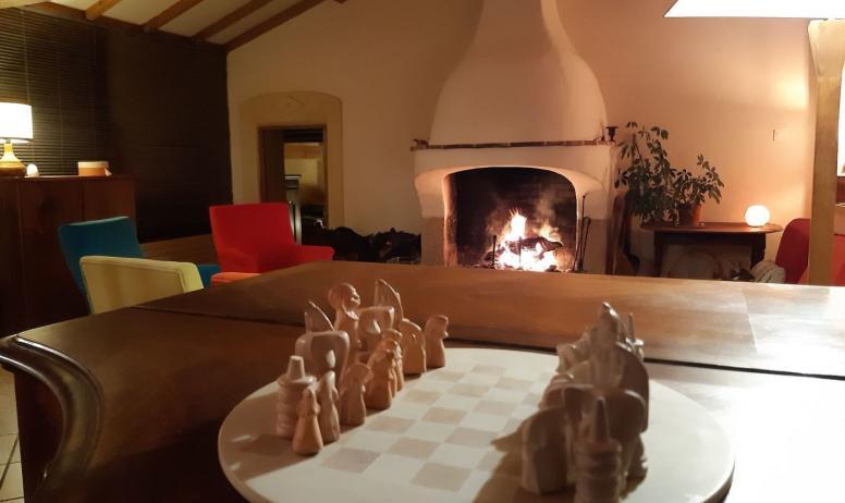 Gîtes de France - ...et pourquoi pas ...une partie d' échecs?
