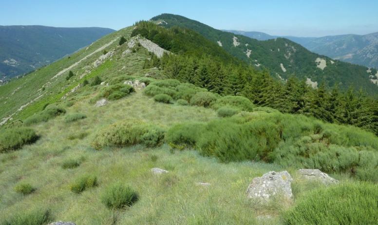 """Gîtes de France - """"le rocher du Midi,"""" magnifique randonnée à partir de la maison"""