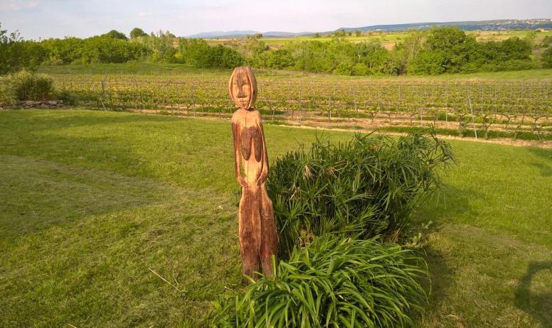 Gîtes de France - sculpture de richard