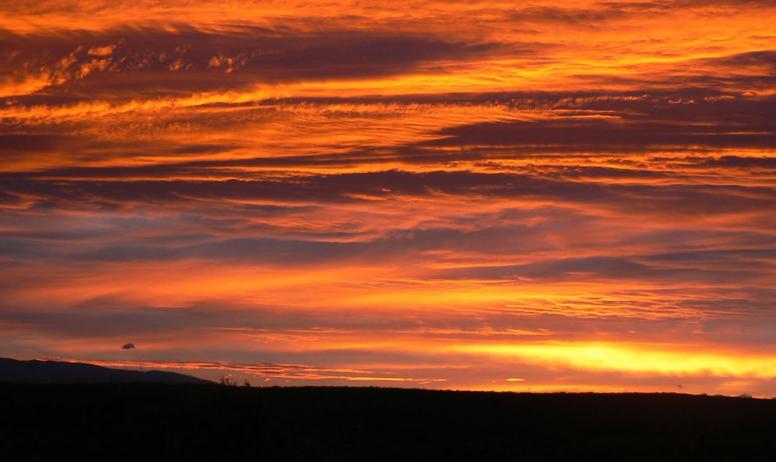 Fransje Spiljard - coucher de soleil