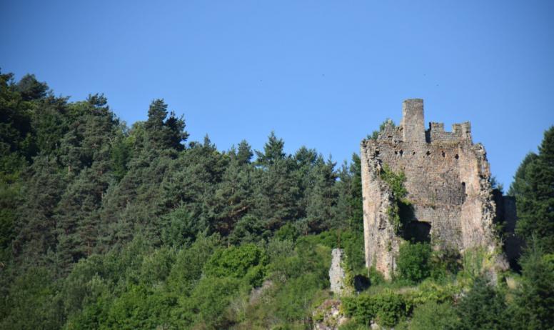 Pauline Astier - Ruines Peychelard