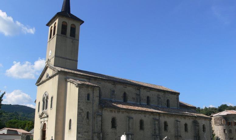 ©OTASV - Jaujac - Eglise Saint-Bonnet ©OTASV