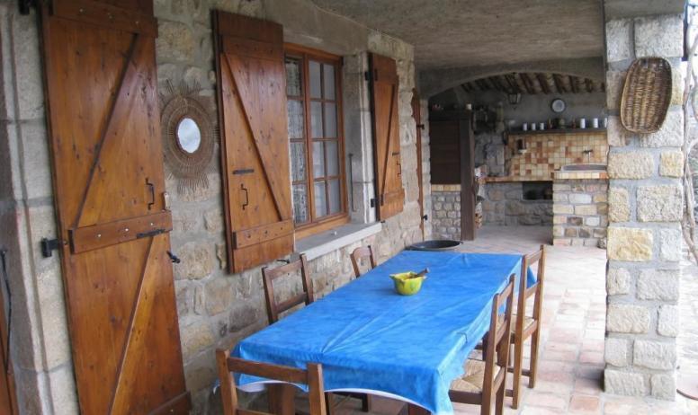 Gîtes de France - Terrasse du gite