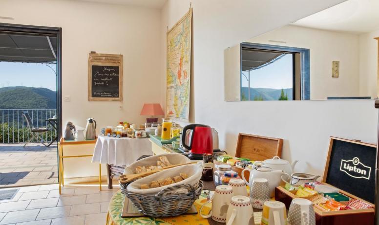 Gîtes de France - Salle petit déjeuner