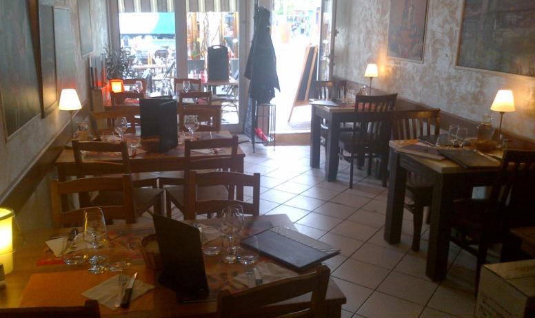 Comptoir Gourmand - la salle de restaurant