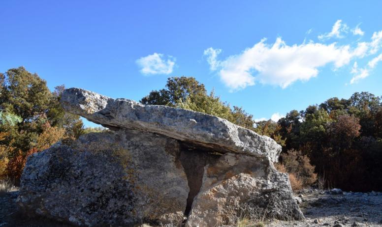 E. Lebobe - Dolmen de Champvermeil