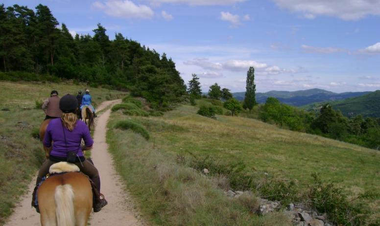 le corral - balade à cheval
