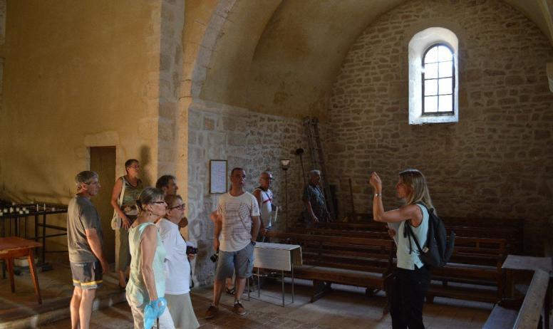 Chapelle de chalon que faire en ard che bourg saint - Office de tourisme bourg saint andeol ...
