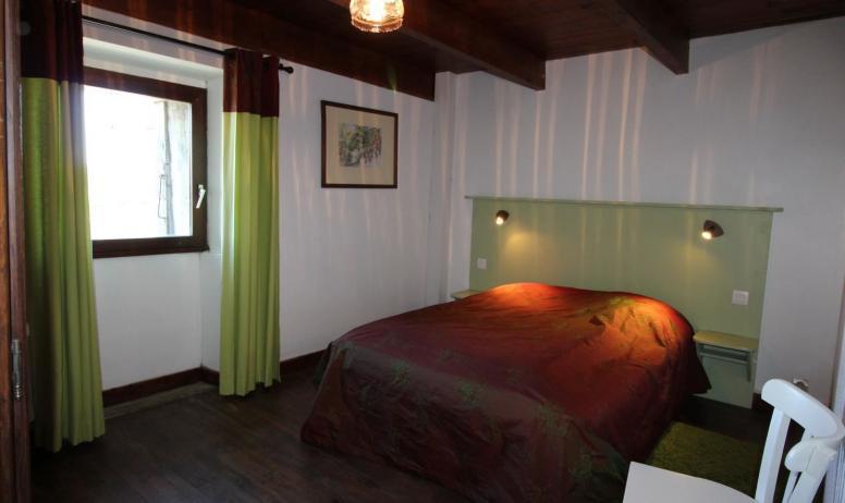 Gîtes de France - Chambre 1 avec 1 lit 2 personnes en 160 cm X 200 cm