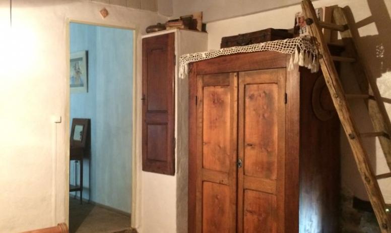 Mme Cornoté - accès chambre le grenier