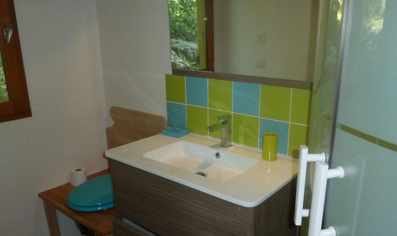 Salle de bain - Roulotte